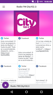 Radio FM City102.3- screenshot thumbnail