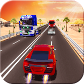 Highway Traffic Racing Speed Rider Rush 3D