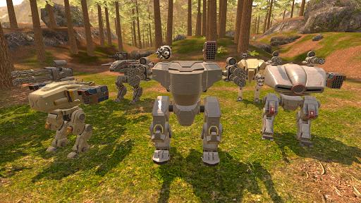 Mech Wars  captures d'écran 1
