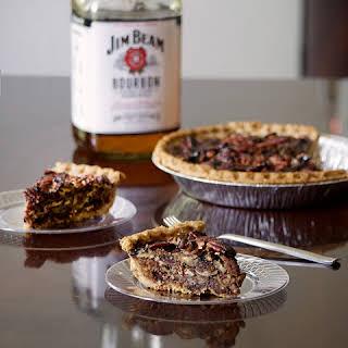 Chocolate Bourbon Pecan Pie.