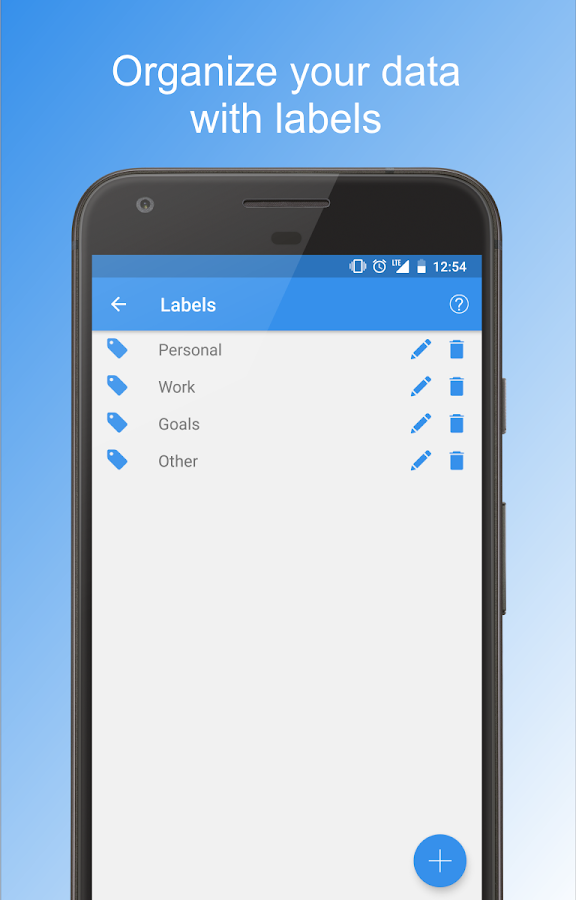 Private Notepad - notes and lists- screenshot