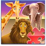 Animal Zoo Puzzles Icon