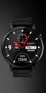 Watch Face Black Style- screenshot thumbnail