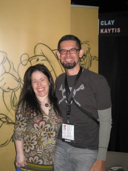 Photo: Clay Kaytis ( Lead Animator on Rhino in Blot, Animator at Disney Feature and creator of The Animation Podcast) and I.
