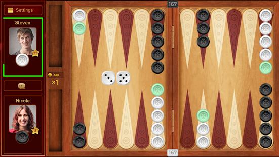 Backgammon King Online - náhled