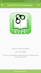 CrPC - Criminal Procedure Code - náhled