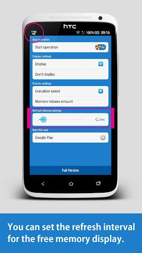 Memory Release Plus screenshot 2