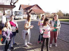 Photo: Čekáme na autobus do Prahy