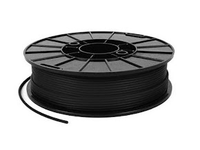 NinjaTek NinjaFlex Midnight Black TPE Filament - 1.75mm