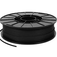 NinjaTek NinjaFlex Midnight Black TPU Filament - 1.75mm (0.5kg)