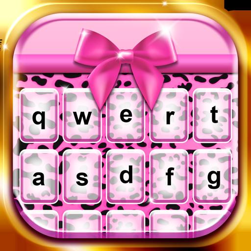 通讯のピンクチーター キーボードのテーマ LOGO-記事Game