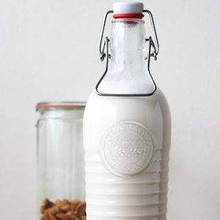 Homemade Almond Milk (DIY) Recipe