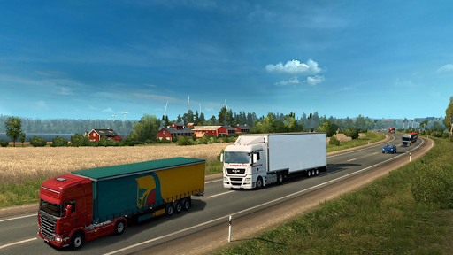 Truck Simulator 2020 : Heavy Cargo Truck Europe 3D apktram screenshots 2