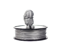Silver MH Build Series PLA Filament - 1.75mm (1kg)