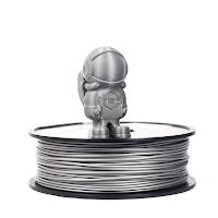 Silver MH Build Series PLA Filament - 1.75mm (1kg)