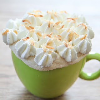 Triple Coconut Mug Cake.
