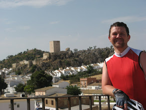 Photo: Martin outside Lora del Rio
