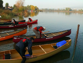 Photo: ci si imbarca per il primo corso