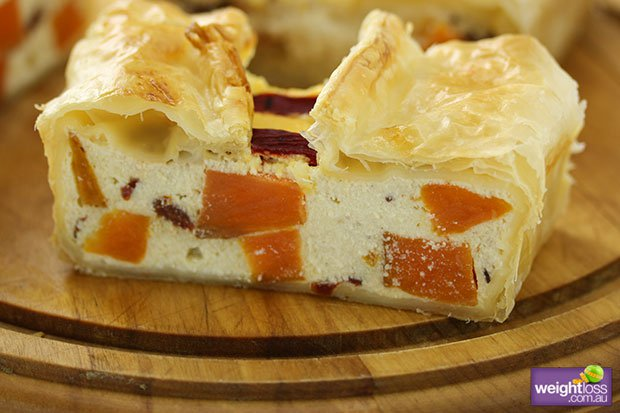 Ricotta & Sundried Tomato Slice Recipe