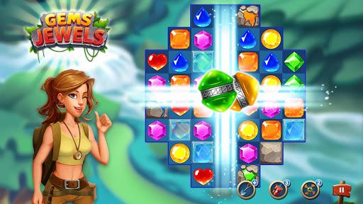 Jewel & Gem Blast - Match 3 Puzzle Game apktram screenshots 8
