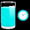 Bere acqua allarme promemoria