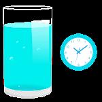 Drink water reminder alert Icon