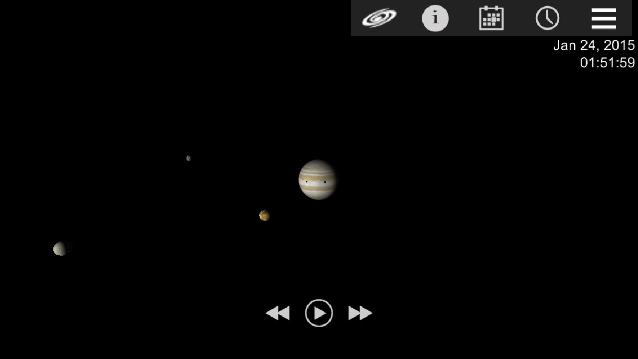 Jupiter Simulator- screenshot