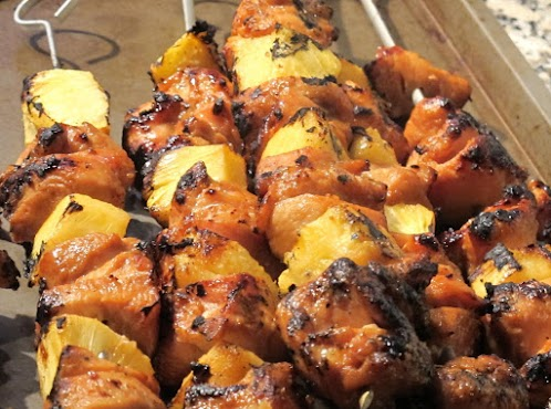 Chicken Pineapple Kabobs