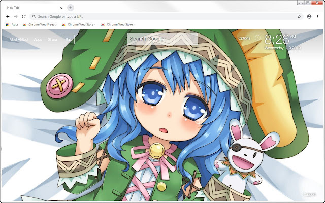 Date A Live HD Wallpapers Anime New Tab