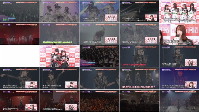 200112 (720p+1080i) Japan Countdown (Keyakizaka46 Part)