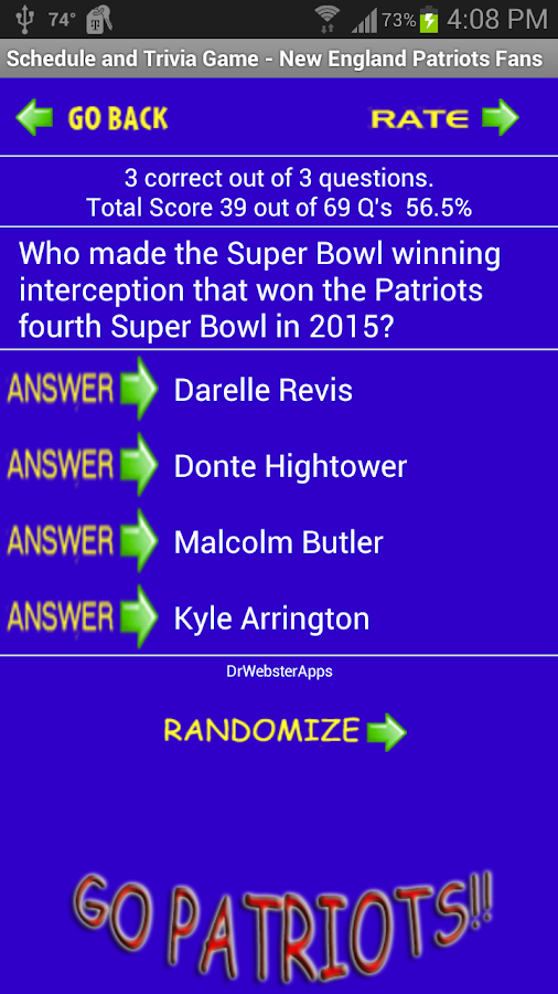 Only A True New England Patriots Fan Can Ace This Quiz ...
