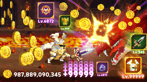 Mr.Kim - 8 bit idle heroes android2mod screenshots 7