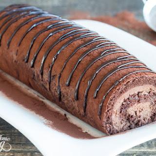 Chocolate Swiss Roll.