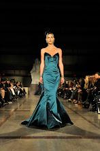 Photo: Hilary Rhoda, Runway==ZAC POSEN Fall 2012 RUNWAY==David Koch Theatre, Lincoln Center,  NYC==February 12, 2012==© Patrick McMullan==Photo - LEANDRO JUSTEN/PatrickMcMullan.com====