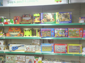 Photo: Crowders garden centre having a fair selection of children's pursuits and small day-out treats.