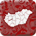 Counties of Hungary icon