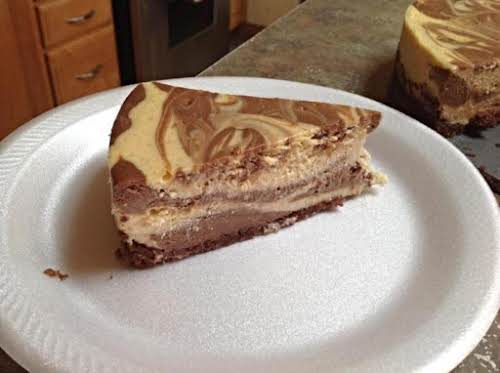 """Irish Cream Marble Cheesecake """"We really loved it. The texture of it was..."""