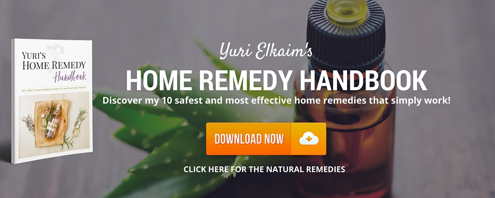 Click here for Yuri's 10 safest and most effective home remedies that simply work