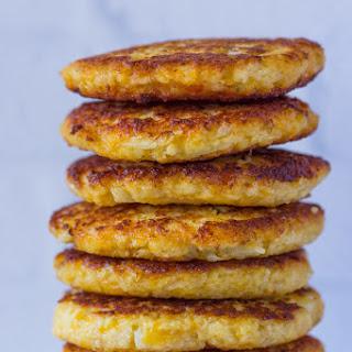 Cauliflower Cheddar Fritters (Pancakes).