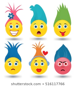Image result for crazy hair cartoon characters