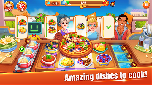 Cooking Master :Fever Chef Restaurant Cooking Game screenshot 2