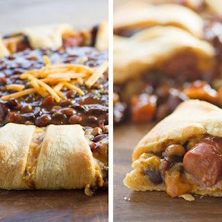 Chili-Cheese Dog Crescent Ring