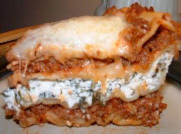 Lasagna My Way Recipe