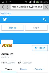 Ghana TV Adom screenshot 2
