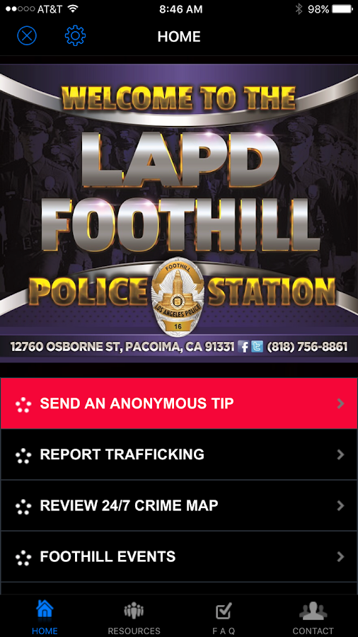LAPD FOOTHILL- screenshot