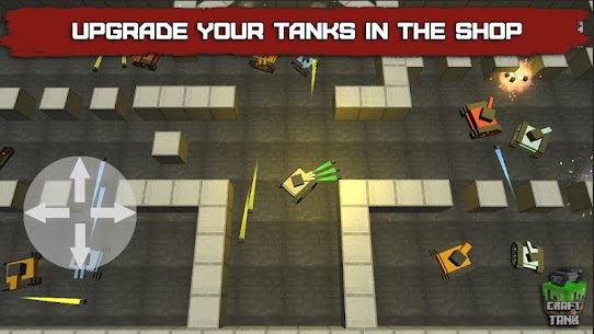 Craft Tank Mod Apk (Unlimited Gold) 7