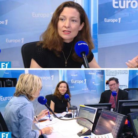 Anne Peymirat sur Europe 1