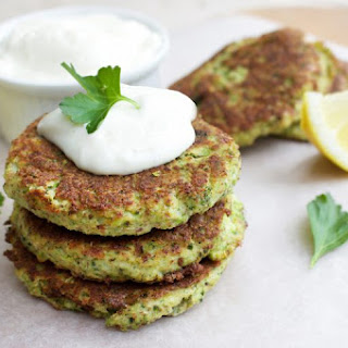Healthy Broccoli & Parmesan Fritters Recipe