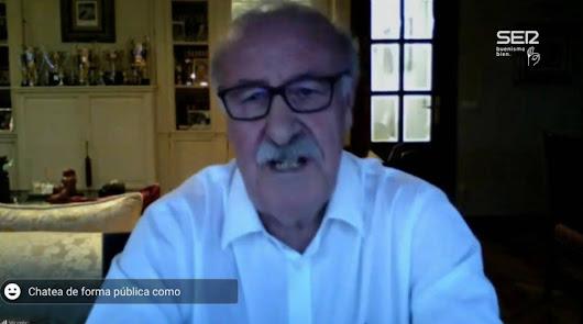 """Del Bosque: """"Pedro Sánchez me llamó y me dijo que hiciera algo de política"""""""