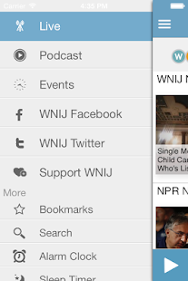 WNIJ Public Radio App- screenshot thumbnail